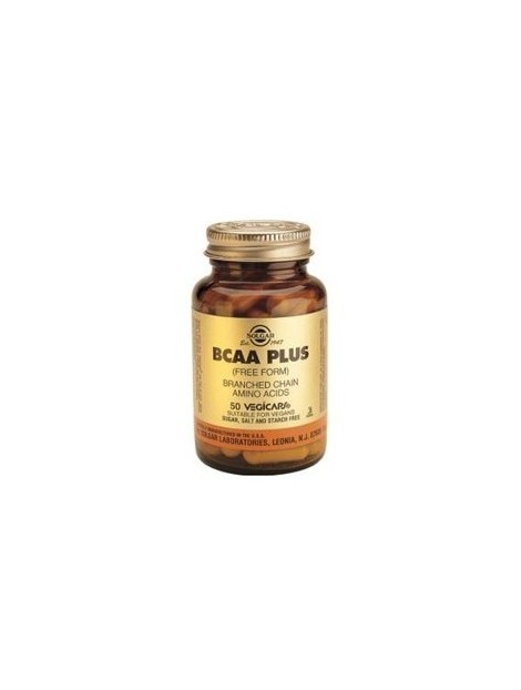 SOLGAR BCAA PLUS 50 VEGICAPS