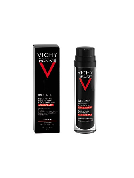 VICHY HOMME IDEALIZER BARBE 50 ML.