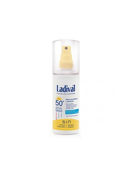 LADIVAL PIEL SENSIBLE ALERGICA FPS 50+ GEL-SPRAY
